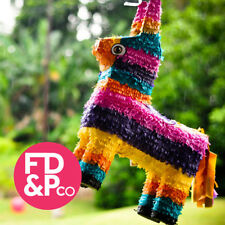 "22"" Mexican Burro Donkey Bash Pull Pinata With or Without Optional Stick"