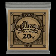 Ernie Ball Phosphor Bronze Acoustic Guitar WOUND SINGLE Strings