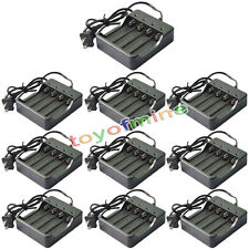 10 PCS Universal Dual GTL Li-ion Battery Charger for 18650 18350