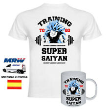 Camiseta Training To GO SuperSaiyan Dragon Ball + TAZA
