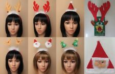 CHRISTMAS, XMAS, HAIR ACCESSORIES; DEELEY BOPPER; ALICE BANDS; HAT; FESTIVE; FUN