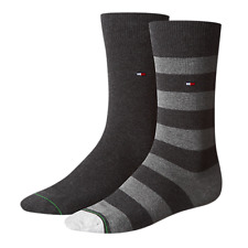 Tommy Hilfiger Hombre Rugby Calcetines 2 Paquete NUEVO