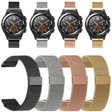 For Huawei Watch 2 Milanese Loop Magnetic Stainless Steel Smart Watch Band Strap