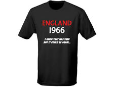 Inglaterra 1966 I know that was then fútbol hombre camiseta (12 Colores)