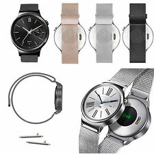 Milanese Stainless Steel Release Band Strap Magnetic Loop For Huawei Smart Watch