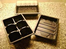 3 TO 30 GROWING KIT- HALF TRAYS -TOPS- 6 CELL TRAYS - HALF TRAY WITH NO HOLES