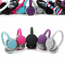 KitSound Earmuffs with Built-In On Ear Headphones Band With Faux Fur Muffs