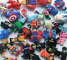 SHOE CHARMS (Y1) inspired by LEGO HERO  *** LARGE PACKS ***