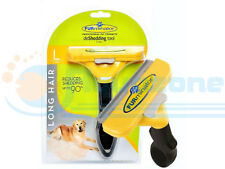 FURMINATOR DESHEDDING TOOL FOR LARGE  DOGS WITH LONG HAIR