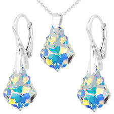 FASHIONS FOREVER® 925 Sterling Silver Baroque Set, made with SWAROVSKI® Crystals