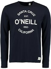 ONeill Ink Blue Type Long Sleeved T-Shirt