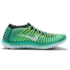 Womens NIKE FREE RN MOTION FLYKNIT Clear Jade Running Trainers 834585 300