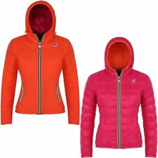 K-WAY LILY THERMO PLUS DOUBLE Giacca DONNA IMBOTTITA reverse AUT/INV KWAY F00jya