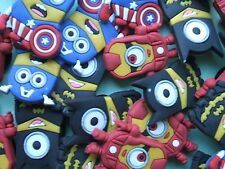 SHOE CHARMS (G2) - CARTOON CHARACTERS inspired by MINIONS (HERO)