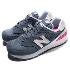 New Balance WL574CNB B Blue Pink Women Running Shoe Sneakers WL574CNBB
