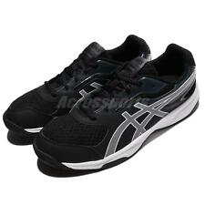 Asics Upcourt 2 Blue Black Men Volleyball Badminton Shoes Sneakers B705Y-9001