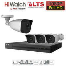 2.4MP CCTV 4CH DVR 1080P Outdoor Camera Security Full HD System Video HDMI Home