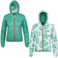 K-WAY LILY PLUS DOUBLE GRAPHIC Giacca DONNA Cappuccio PRV/EST New KWAY 917kmdqgh
