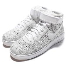 Wmns Nike AF1 Flyknit Air Force 1 White Women Classic Shoes Sneakers 818018-101