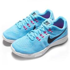 Wmns Nike Lunartempo 2 Blue Black White Pink Womens Running Shoes 818098-402