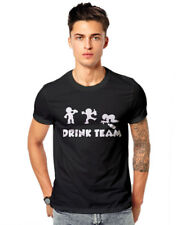 Drink Team Daru Beer Desi Swag Friend Quote  Unisex Casual T-shirt  GSM T-shirts
