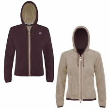K-WAY FELPE DONNA Giacca aut/inv REVERSE Pile LILY POLAR FLEECE KWAY 912hhcychbi