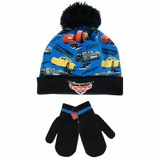 Disney Cars Winter Set | Disney Cars Hat and Gloves | Disney Cars Hat and Mitten