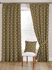 McAlister Textiles Arizona Moroccan Yellow Ochre Curtains