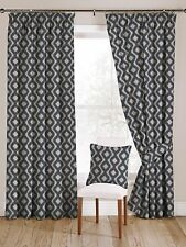 McAlister Textiles Arizona Moroccan Wedgewood Blue Curtains