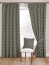 McAlister Textiles Arizona Moroccan Duck Egg Blue Curtains