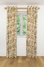 McAlister Textiles Wildflower Floral Spice Orange Curtains
