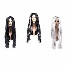 Adult Long Straight Fancy Dress Cosplay Synthetic Hair Wig With Fringe - Choose