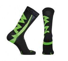 Calze Invernali Northwave EXTREME Black/Green Flu/WINTER SOCKS NORTHWAVE EXTREME