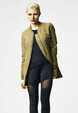 Ladies Peached Long Bomber Jacket Urban Classics Streetwear Giacca Donna