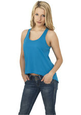 Ladies Wide Tank Urban Classics Streetwear Canotta amp Top Donna