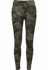 Ladies Camo Leggings Urban Classics Streetwear Pantalone Donna