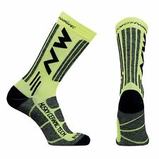 Calze Invernali Northwave HUSKY CERAMIC TECH2 Yellow Fluo/WINTER SOCKS NORTHWAVE
