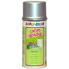 DUPLI-COLOR COLOR-SPRAY SILBERBRONZE HOLZ METALL GLAS PAPPE PFLANZEN 150 ML