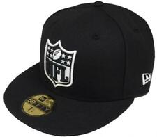 New Era NFL Logo Black White 59fifty Fitted Cap Exclusive Limited Edition New