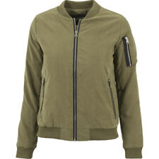 Ladies Peached Bomber Jacket Urban Classics Streetwear Giacca Donna