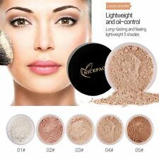 5 Color Finishing Powder Face Loose Powder Translucent Setting Foundation Makeup