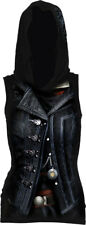 Spiral Assassins Creed Syndicate Evie, Allover Licensed Sleeveless Gothic Hood