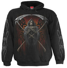 Spiral Judge Reaper, Hoody Black|Reaper|Skulls|Skeleton|UnDead
