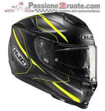 Helmet motorrad Hjc Rpha 70 Dipol MC4hSF black yellow M L casque integral helm