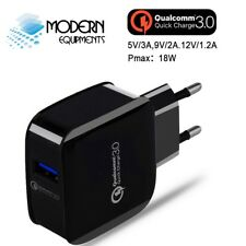 Box Packed Qualcomm™ Certified Quick Charge 3.0 USB FAST Wall Charger
