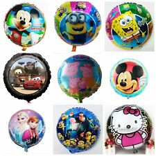 Disney,Peppa Pig,Hello Kitty,cars,Despicable Me Helium Balloons Mickey Mouse