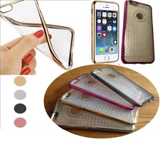 Transparent Drop Resistance Cover Case 360 TPU Gel Skin for iPhone and Samsung