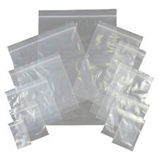 Best Clear Grip Self Press Seal Resealable Poly Polythene Zip Lock Plastic Bags