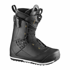 Salomon Mens Snowboard Boots - Dialogue Wide Black 2018 - All-mountain