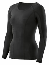 Skins DNAmic Women's Compression Long Sleeve Top Thermal Base Layer Winter New